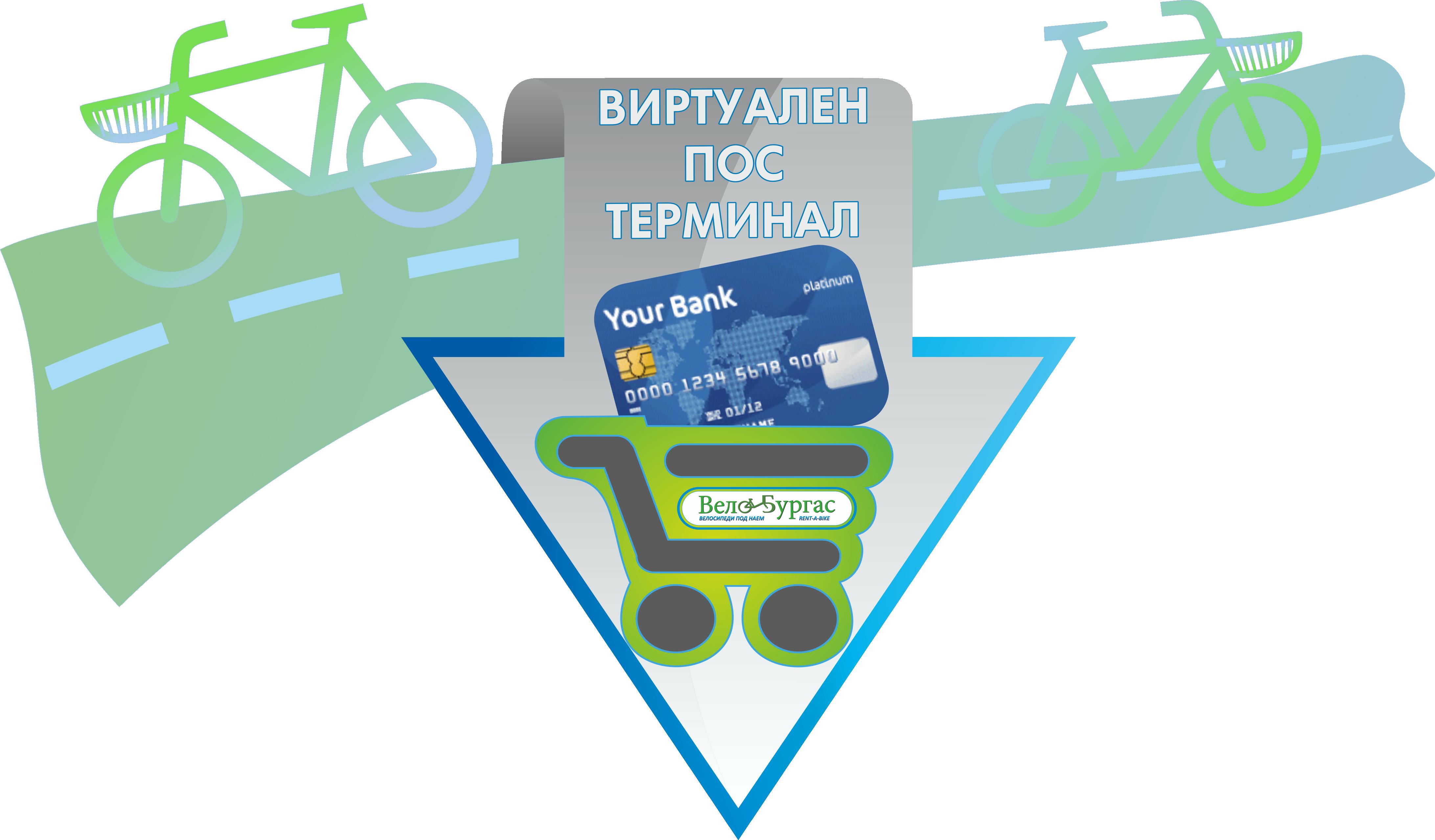 Автоматизирана система за отдаване на велосипеди под наем: 2015г.-2019г. - Наемане чрез POS терминал