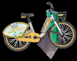 Автоматизирана система за отдаване на велосипеди под наем: 2015г.-2019г. - Електро-велосипед с електро парко-колонка